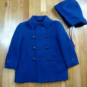 Vintage Fieldston Man Tailored Wool Coat